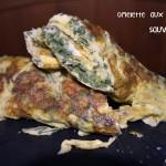 Recette de l'omelette aux Asperges Sauvages pour les fêtes de Pâques avec des oeufs bio