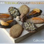 Recette des sabls aux fruits secs chocolat et mandarine confite pour culino versions