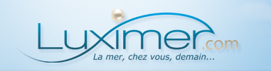 Logo de Luximer, le site breton de vente sur internet de poisson et crustacs