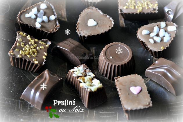 Recette chocolat de noel maison