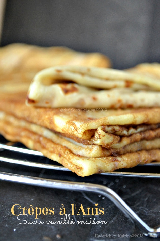 crepes anis sucre vanille maison