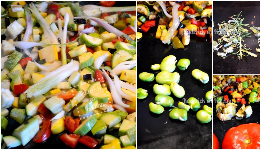 Legumes bio d 39 t la plancha recette plancha v g tarienne for Legumes a la plancha