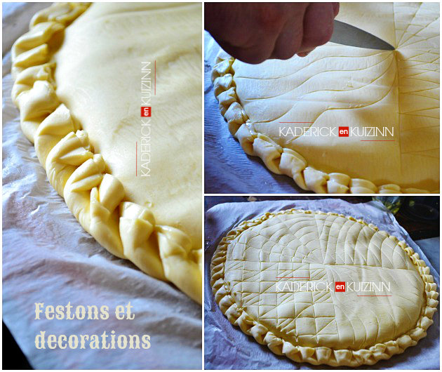 galette des rois la cr me frangipane recette du chef simon. Black Bedroom Furniture Sets. Home Design Ideas