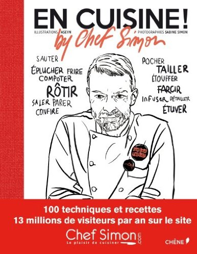 Livre cuisine Chef Simon