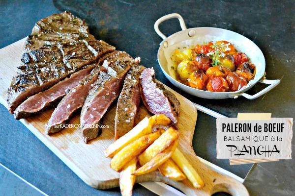 Paleron boeuf recette plancha paleron marin balsamique for Cuisiner pour des amis