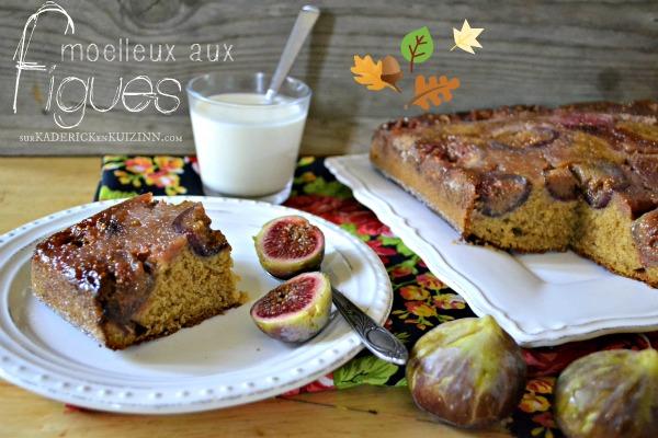 Moelleux figues – Gâteau moelleux figues rapadura et vanille