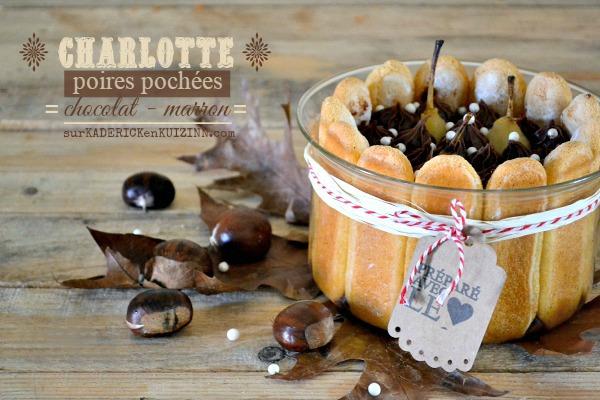Recette gateau chocolat marron poire