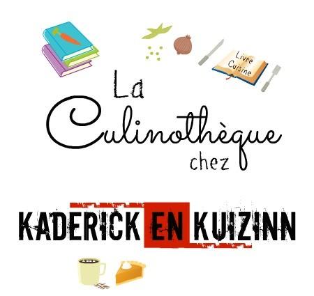 Livres cuisine - Nouveautés dans la Culinothèque de Kaderick