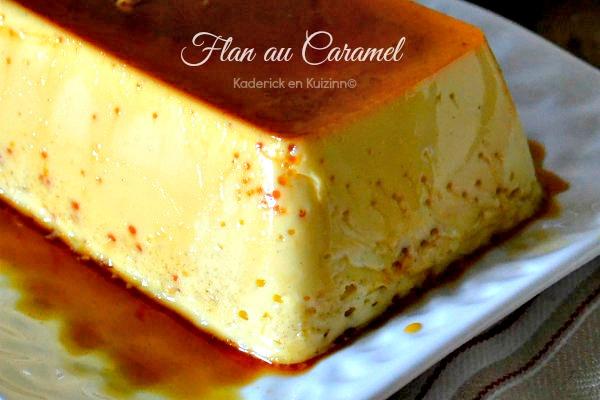 Entremet ou flan caramel omnicuiseur vitalit 6000 kaderick - Flan de maison ...