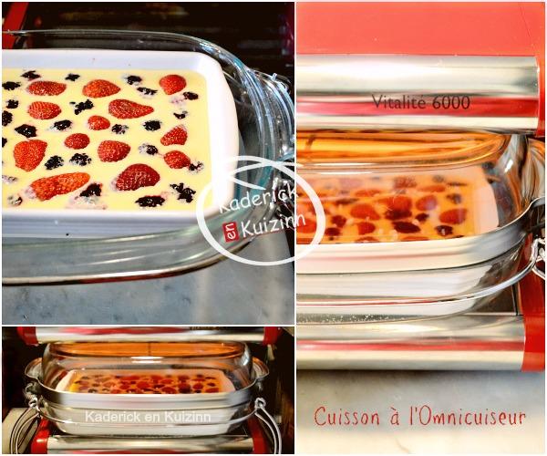 Clafoutis fraises m res lait amande l 39 omnicuiseur kaderick for Amande cuisine bjorg