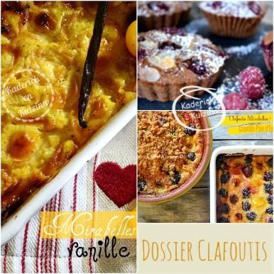 Dossier recette Clafoutis - Recette clafoutis fruits bio saison chez Kaderick en Kuizinn