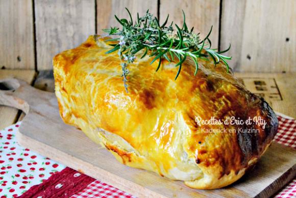 recette poulet poulet fermier farci croute feuillet 233 e kaderick