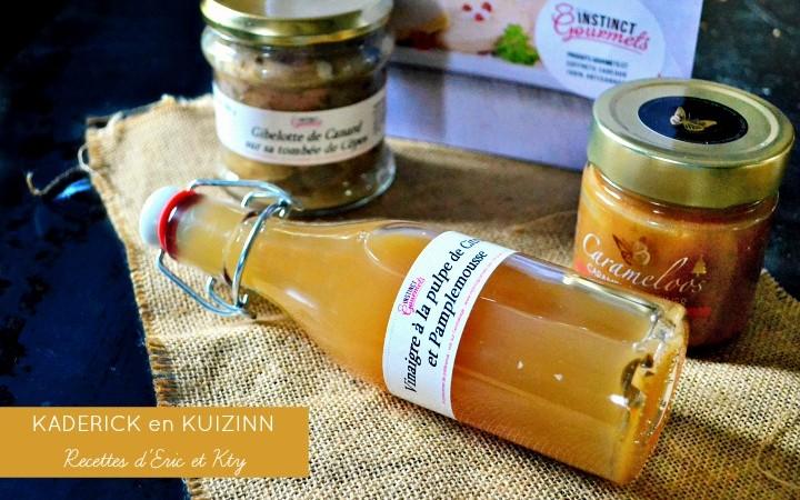 Instinct Gourmets, produits reçus en partenariat