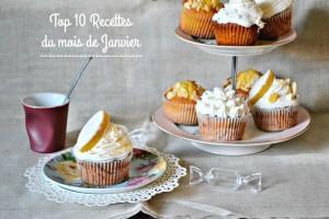 Janvier 2016 – Le top 10 des recettes
